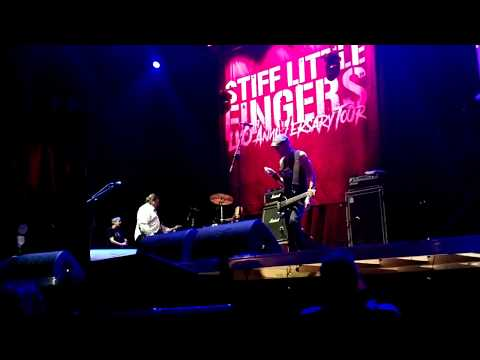 Stiff Little Fingers – Live – 11.11.2017 Gasteiz Calling III, Vitoria-Gasteiz, Spain