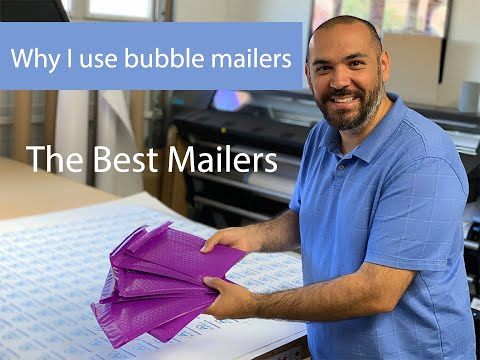 Why Do I Keep Mailing Items Like This? Purple Bubble Mailers!