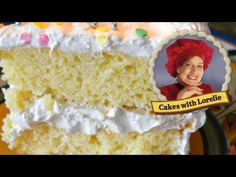 Yellow Cake Recipe From Scratch Youtube