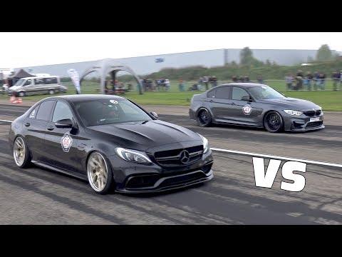 BMW M3 F80 vs C63 AMG vs Audi R8