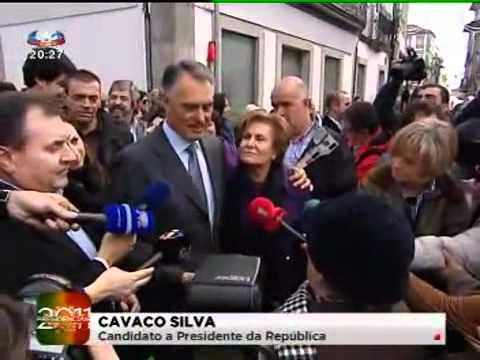 Cavaco Silva Escândalo em Viana do Castelo (Telejornal da SIC)