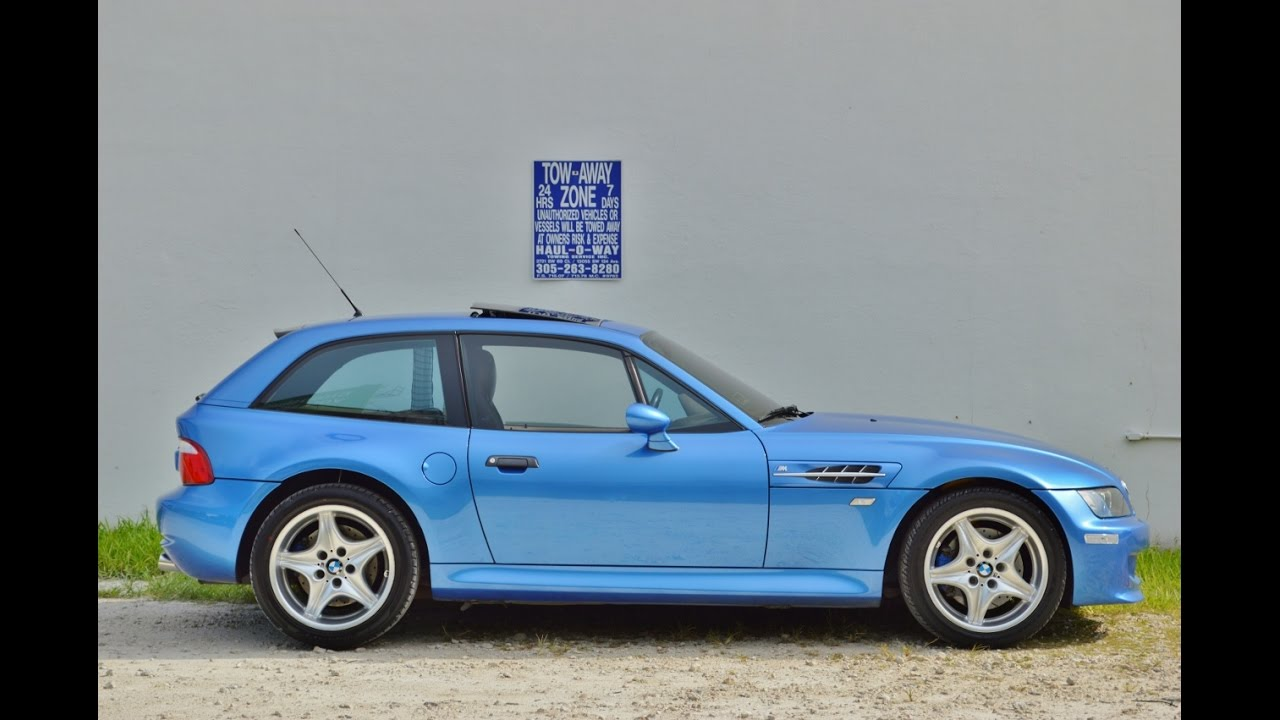 2000 BMW Z3 M Coupe Walk Around and Start Up  SOLD CALL TONY
