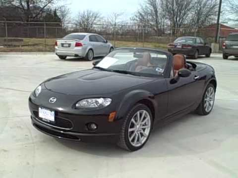 2008 black mazda miata mx 5 dallas youtube. Black Bedroom Furniture Sets. Home Design Ideas