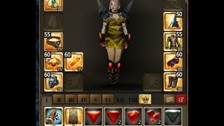 Drakensang Online My Collectors Bag / Grimmag Set / first Stats on lvl55!!!
