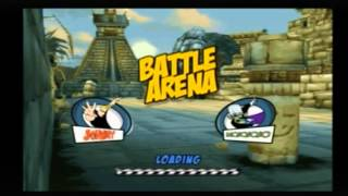 Cartoon Network Racing PS2 Multiplayer (The Game Factory)