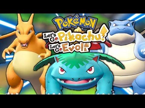 Wir sind BACK! Shiny Glumanda hunt 😍  Let's Go Pikachu & Pokémon Let's Go Evoli