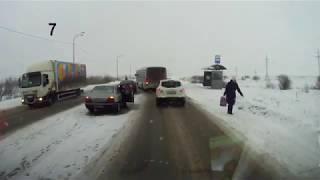 Аварии на трассе Северодвинск Архангельск  от 21 01 2020