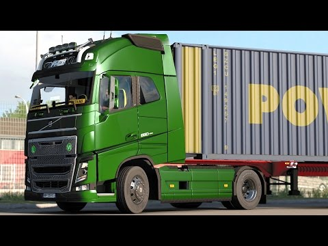 ETS 2 1.27 Volvo FH16  Toulouse - Marseille