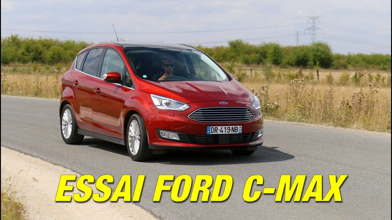 essai ford c max le monospace compact offrant un bel agr ment youtube. Black Bedroom Furniture Sets. Home Design Ideas