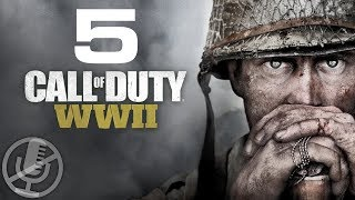 Call of Duty WW2 Прохождение Без Комментариев На Русском На ПК Часть 5 — Освобождение