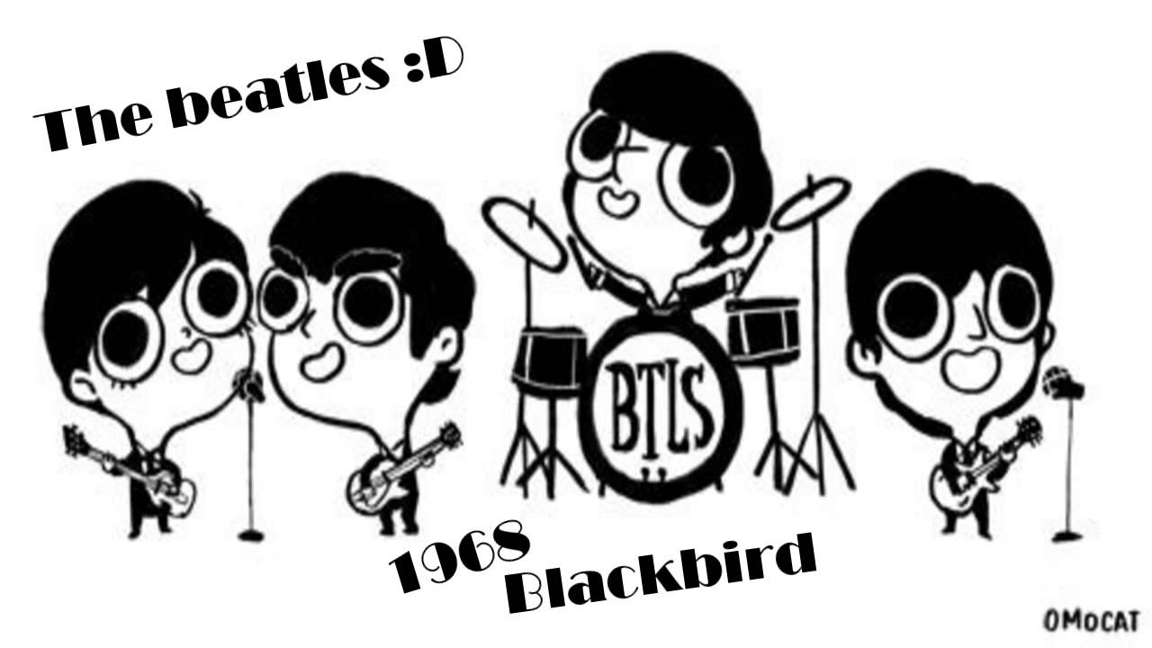 The beatles  ~~  blackbird (cover acoustic)