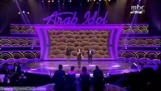 Nancy Ajram in Arab Idol 1of4 Intro