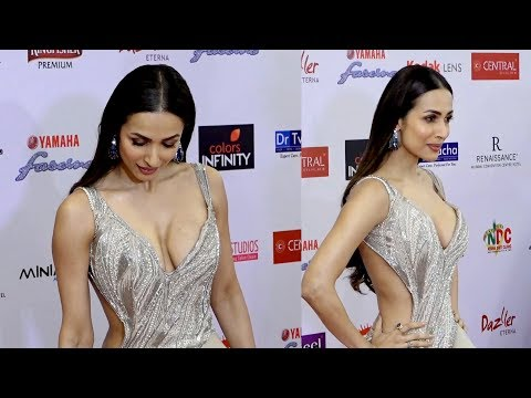 Malaika arora khan Very H0T Dramatic Look At Red Carpet With Many Celebs