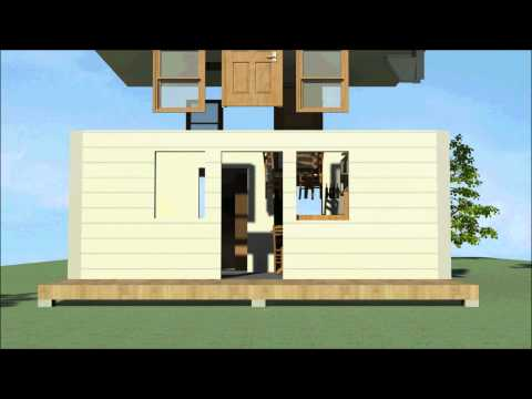 Modular House Construction Animation