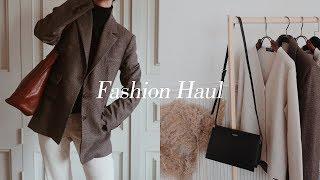550만원어치 패션 하울, try on Fashion haul 2018,  가을 겨울 패션 룩북, 명품하울