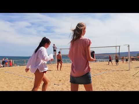 пляжный волейбол 2 тур Чемпионата Крыма, Феодосия 2019