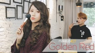 Quynh Anh Shyn - Makeup#27: GOLDEN RED