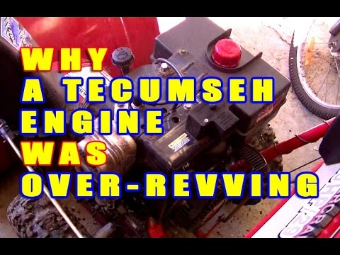 why-a-tecumseh-engine-was-over-revving-&-repair