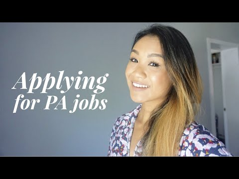 Applying For PA Jobs  Sources Interview Contract Salary