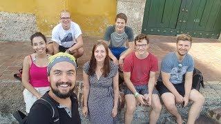 Kolombiya, Cartagena'da İspanyolca Dil Kursunda Edindiğim Arkadaşlarım Video
