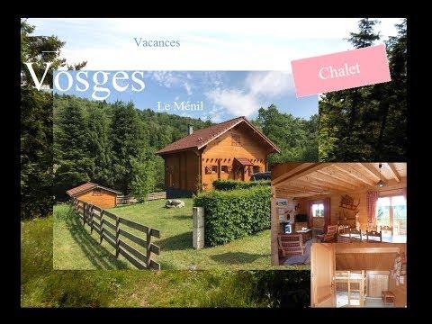 Location Vacances Eté Nature Le Ménil Vosges Un Chalet