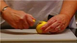 Cooking Tips & Basics : How to Use a Lemon Zester