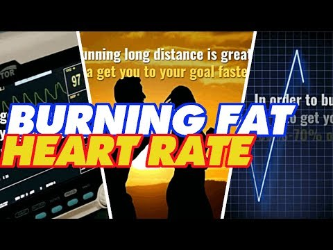 Burning fat heart rate | Target heart rate to burn fat - Watch the video