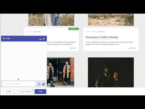 Add Live Group Chat Widget For Websites - Chatters
