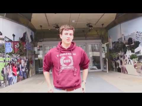 A tour of the students' union at Sheffield Hallam University