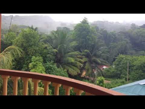 Anse Royale , Seychelles - very rainy day in April
