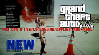 PS3 GTA 5 1.23/1.24 Online/Offline Mod Menu + Download