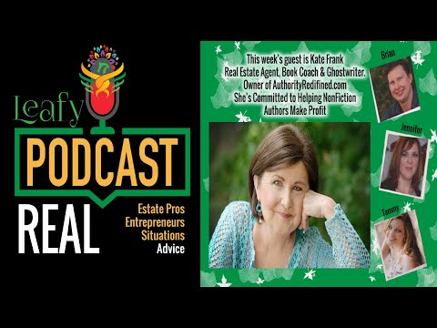 Leafy Episode 34: Disrupting the Publishing Industry on How to Write a Book with Kate Frank