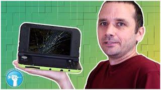 $12 for a BROKEN 3DS XL - Let's Fix It - Broken Top Screen