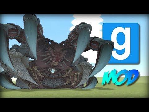 Garry's Mod: INSANELY MASSIVE CREATURES (More Vindictus SNPCs) | Mod Showcase