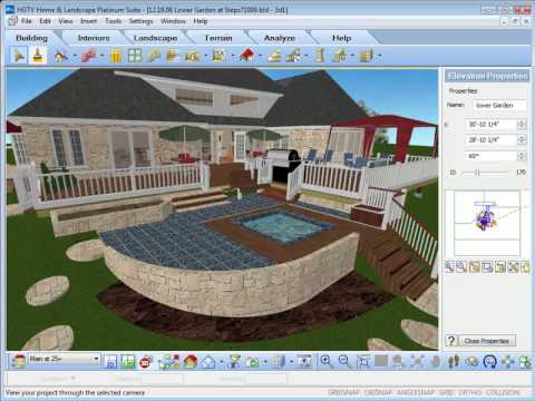 Great HGTV Home Design Software   Using The View Options   YouTube