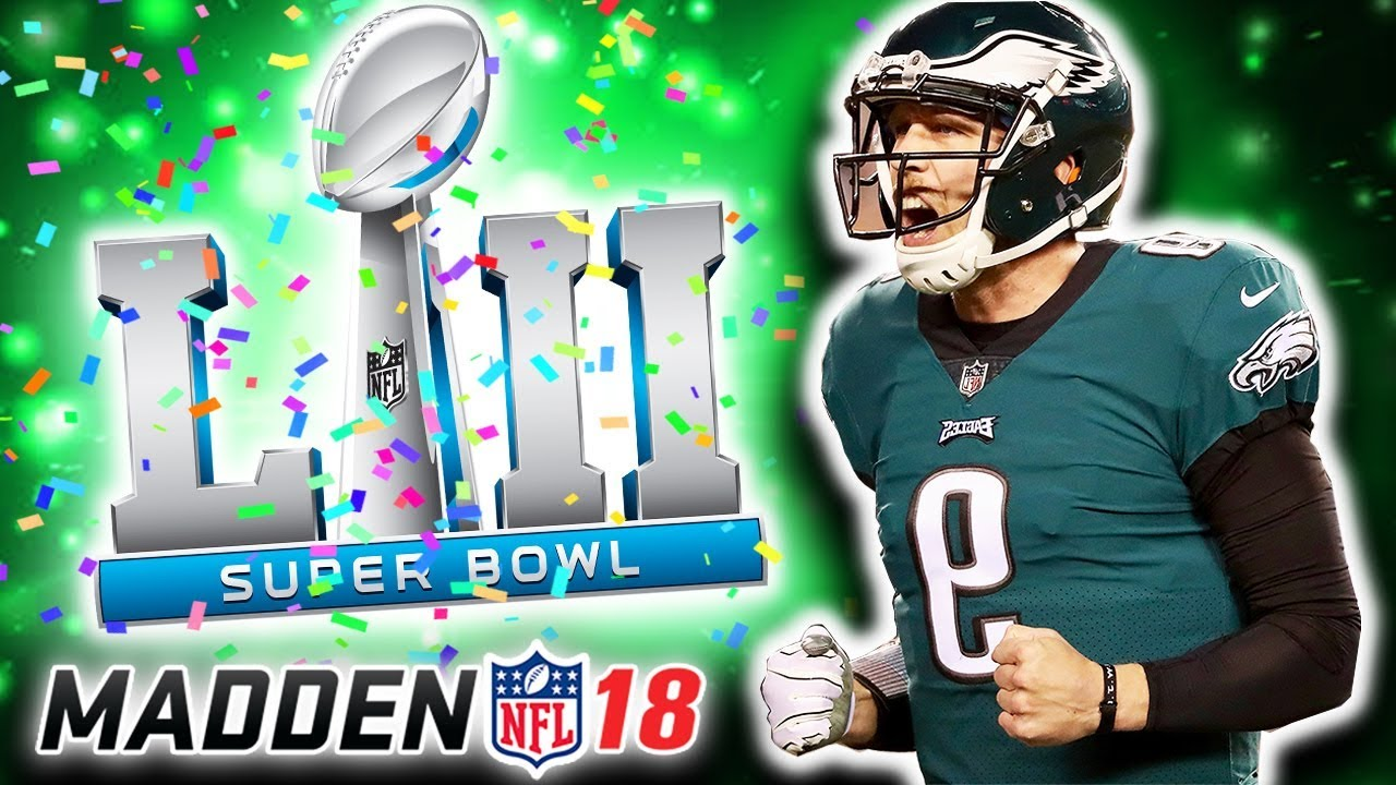 quality design 79316 332dc 94 NICK FOLES SUPERBOWL VS TOM BRADY!🏆 EAGLES! | Madden 18 Ultimate Team -  Jmellflo