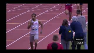2021 B1G Ten Indoor Track and Field Championships: 4x400m Relay - Ohio State University