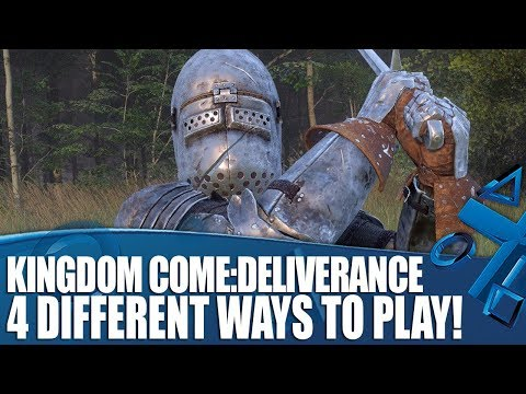 4 Ways To Play Kingdom Come: Deliverance on PS4