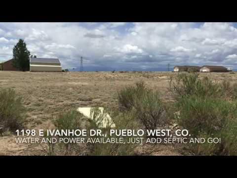 1 acre lot near Hwy 50, in Pueblo West!