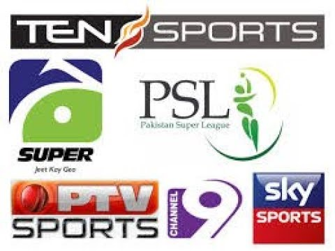 PSL 2018 live streaming tv channel list   PTV sports ten sport and Geo Super live telecast in PSL 3