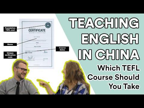 TEFL Qualifications