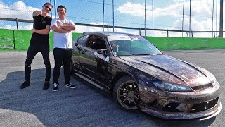 Surprising a Subscriber in my 1000HP Drift Car!