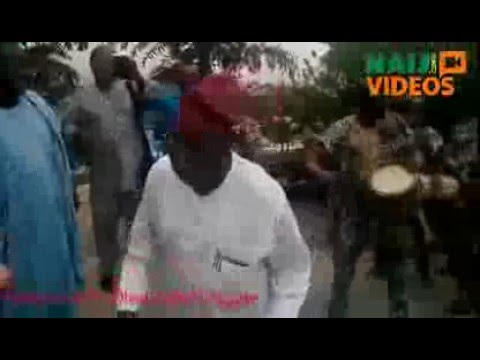 Ex President Obasanjo dances on his birthday