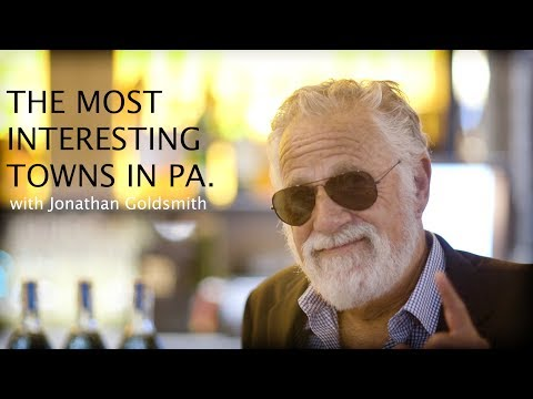 The Most Interesting Man in the World rates Pennsylvania towns