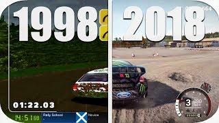 THE Evolution of Colin Mcrae DIRT 1998-2018