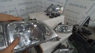 Полировка фар на Honda CR-V rd1