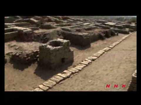 Archaeological Ruins at Moenjodaro...