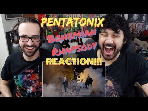 PENTATONIX - Bohemian Rhapsody [Official Video] REACTION!!!