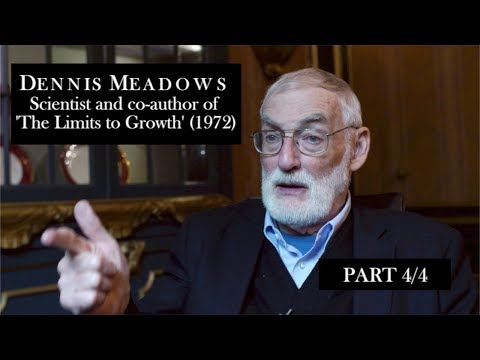 Dennis Meadows Interview p4/4 (A 'peaceful collapse' & many revolutions...)