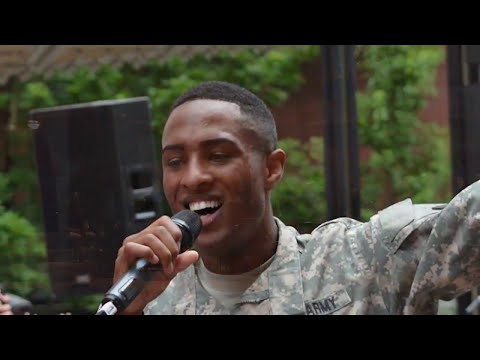 Army band in Washington State teams up with local University for Music in our Schools Month